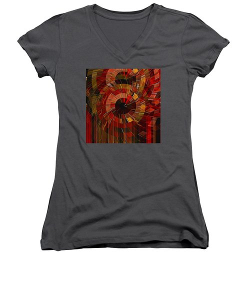 Royal Fireworks Women's V-Neck