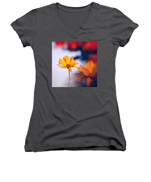 Rudbeckia Grandiflora 2 Women's V-Neck