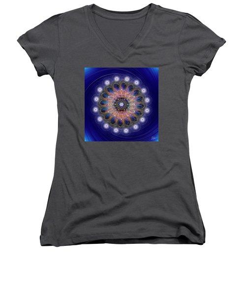 Sacred Geometry 726 Women's V-Neck