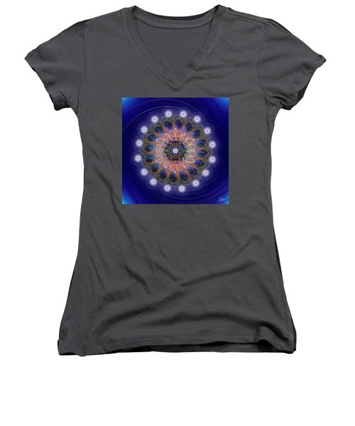 Sacred Geometry 726 Women's V-Neck