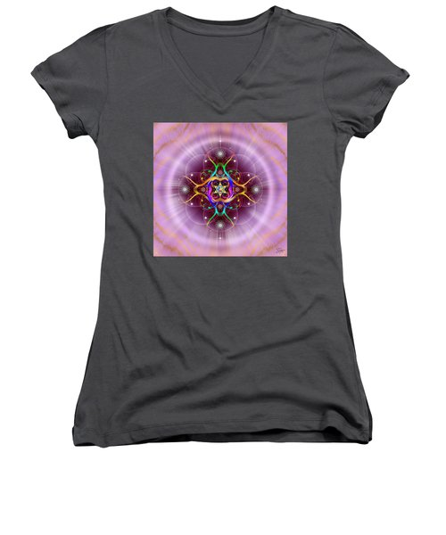 Sacred Geometry 757 Women's V-Neck