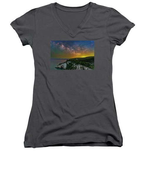 San Felice Arch And Tower Women's V-Neck