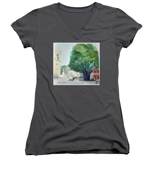 Sersale Tree Women's V-Neck