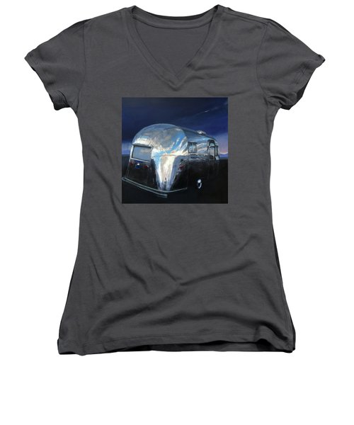 Shelter From The Approaching Storm Women's V-Neck