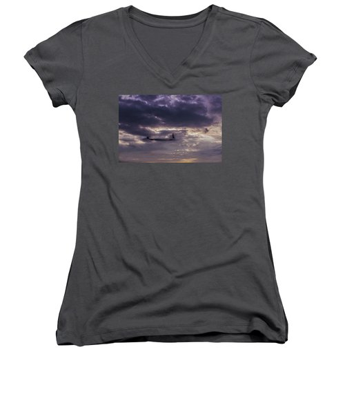 Sky Fisherman Women's V-Neck