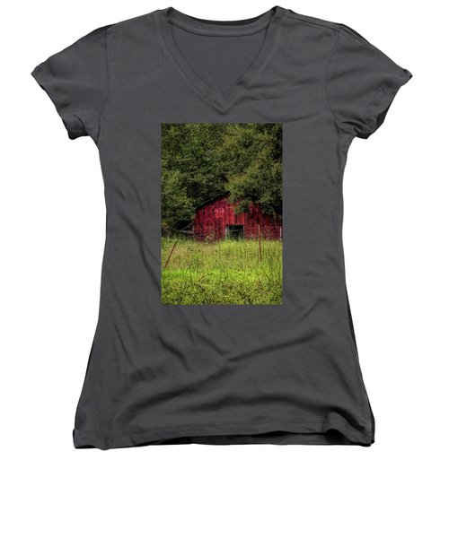 Small Barn 2 Women's V-Neck