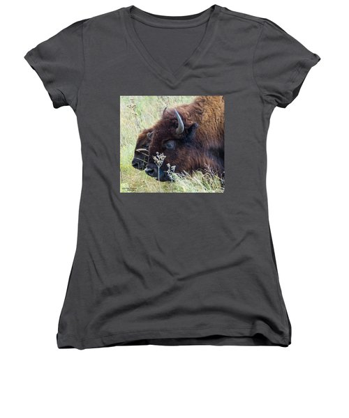 Someone To Watch Over Me Women's V-Neck