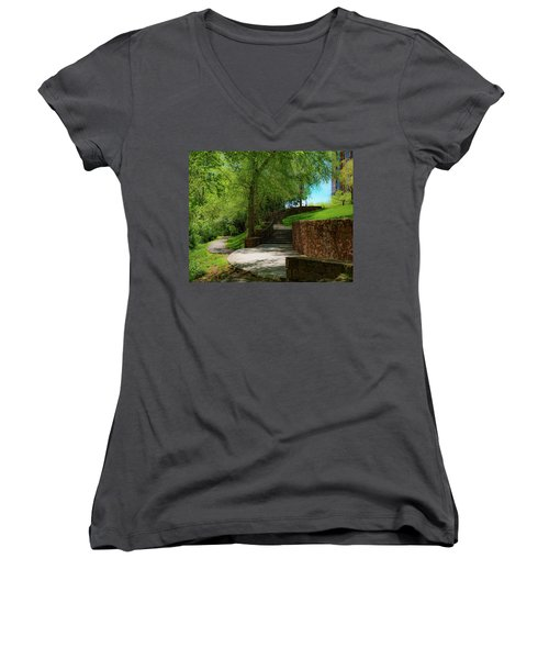 Stairway To Carlyle Women's V-Neck
