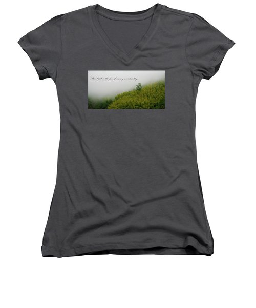 Stand Tall 2x1 Women's V-Neck