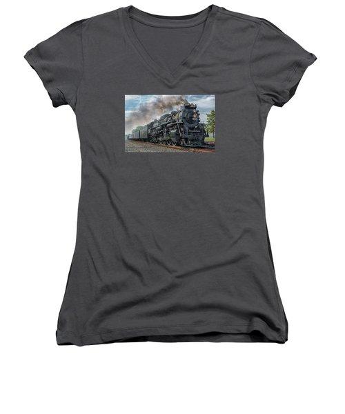 Steam Train  Women's V-Neck