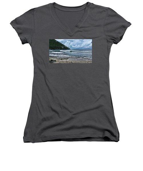 Stormy Shores Women's V-Neck