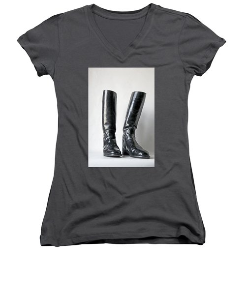 Studio. Riding Boots. Women's V-Neck