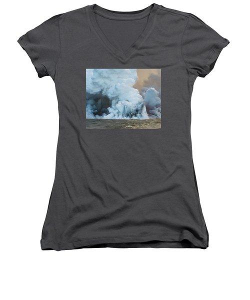 Submerged Lava Bomb Women's V-Neck