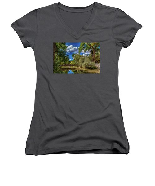 Sunrise Springs Women's V-Neck