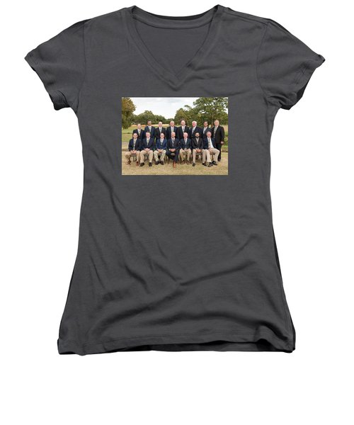 Outlaws Women's V-Neck (Athletic Fit)