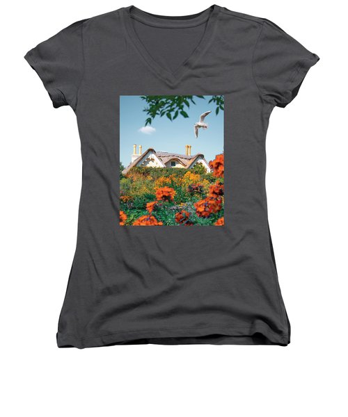 The Hobbit House Women's V-Neck