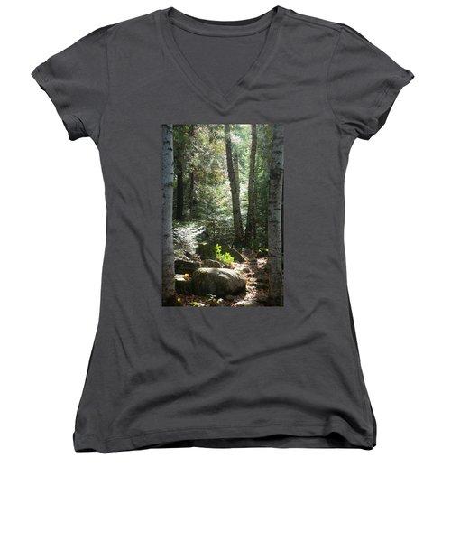 The Living Forest Women's V-Neck