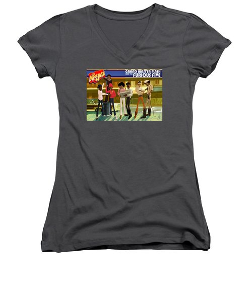 The Message Women's V-Neck