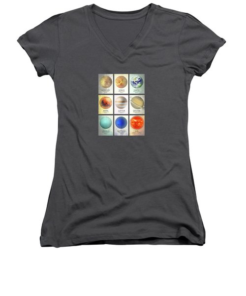 The Planets Women's V-Neck