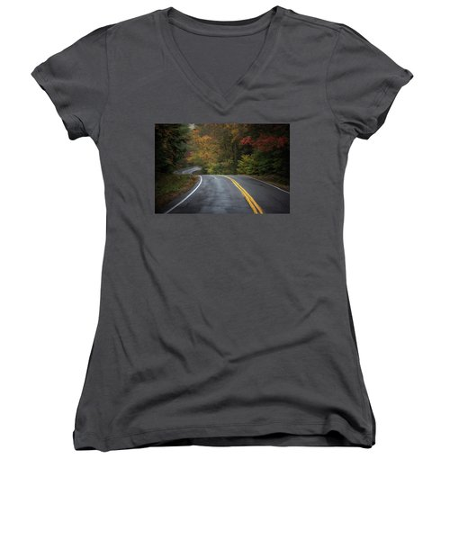 The Road To Friends Lake Women's V-Neck