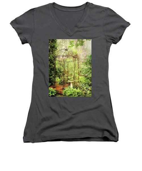 The Secret Garden Women's V-Neck