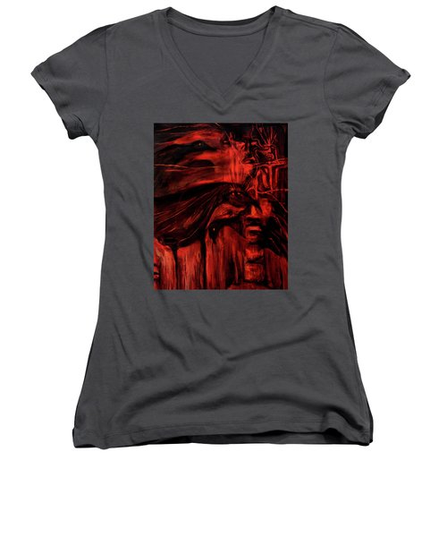 The Shap Shifters Call Women's V-Neck