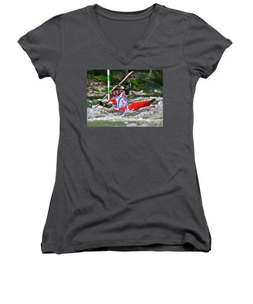 The Slalom Women's V-Neck