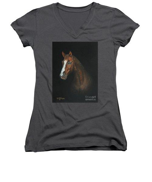 The Stallion Women's V-Neck