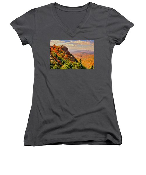 The Summit In Fall Women's V-Neck