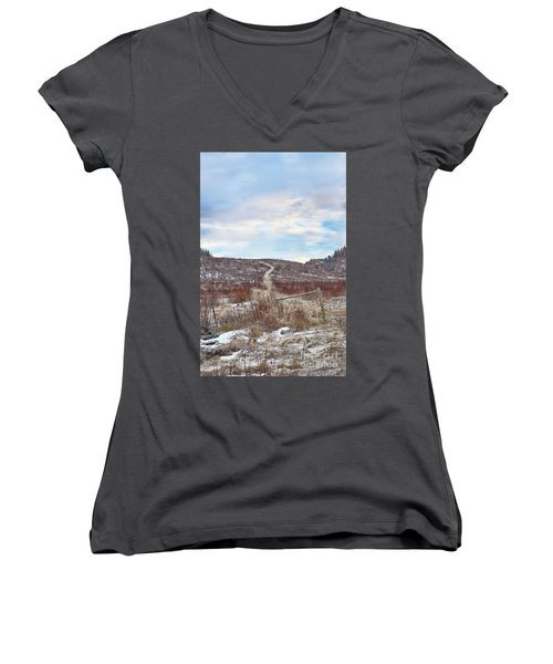 The Wall Women's V-Neck