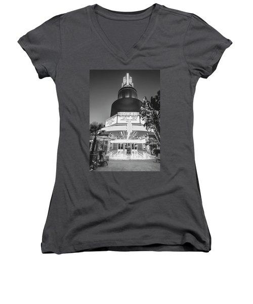 Tower In Silence- Women's V-Neck