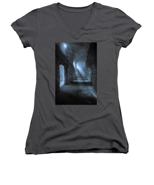 Traces Of The Past Women's V-Neck