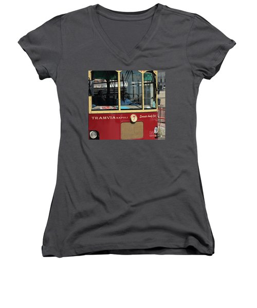 Tram Naples Women's V-Neck