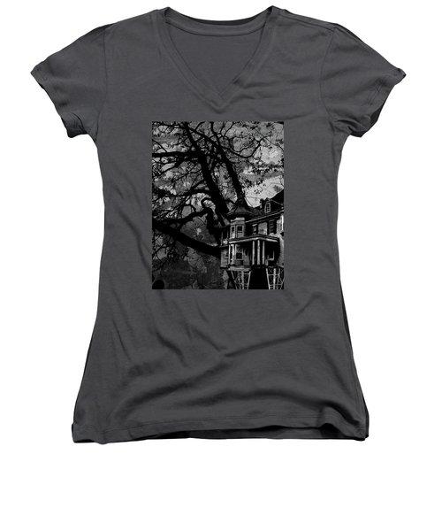 Treehouse IIi Women's V-Neck