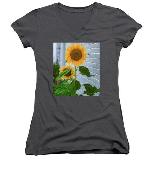Urban Sunflower Women's V-Neck