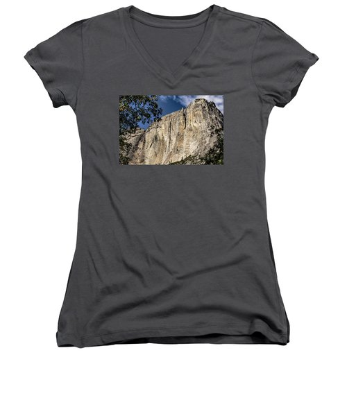 View From The Capitan Women's V-Neck
