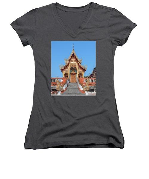 Wat Nong Tong Phra Wihan Dthcm2639 Women's V-Neck