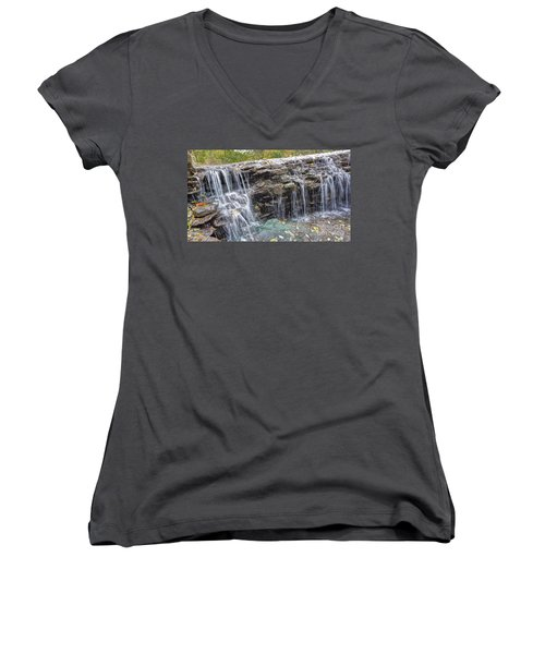 Waterfall @ Sharon Woods Women's V-Neck