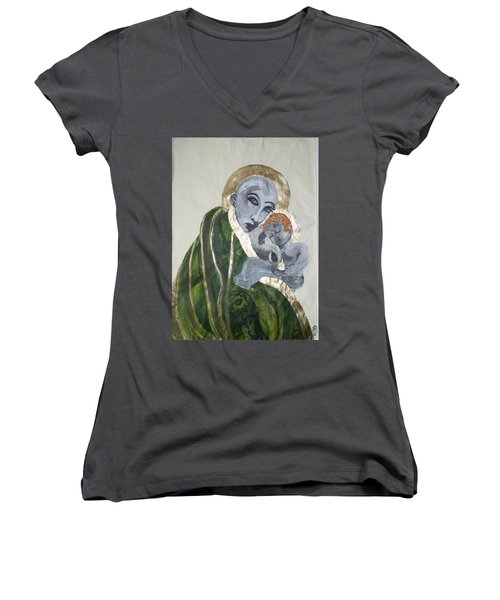 We Carry Our Inheritance Women's V-Neck