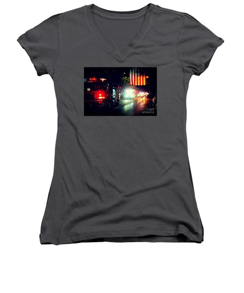 We Remember 9/11 Women's V-Neck
