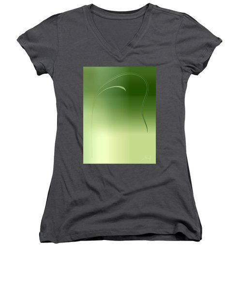 Weed Women's V-Neck