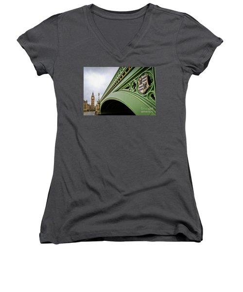 Westminster Bridge Women's V-Neck