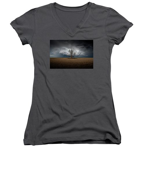 When Dreams Become Reality Women's V-Neck