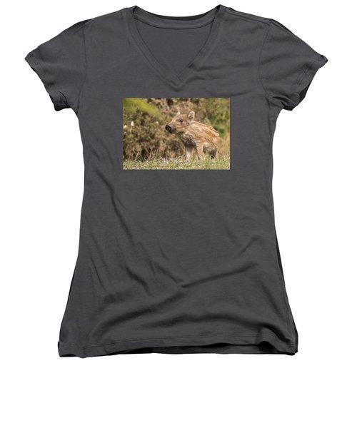 Wild Boar Humbug Women's V-Neck