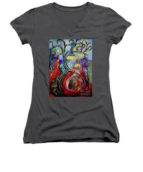 Witching Tree Women's V-Neck