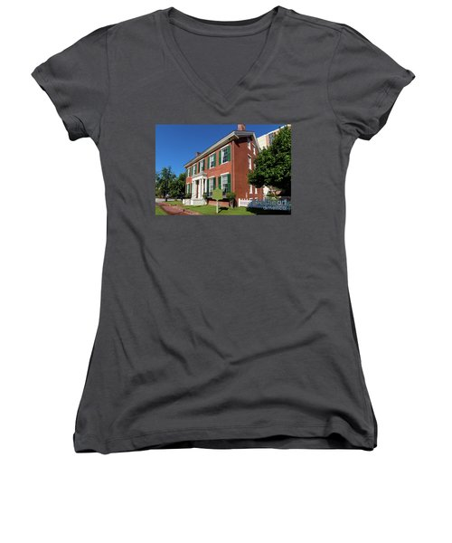 Woodrow Wilson Boyhood Home - Augusta Ga 2 Women's V-Neck