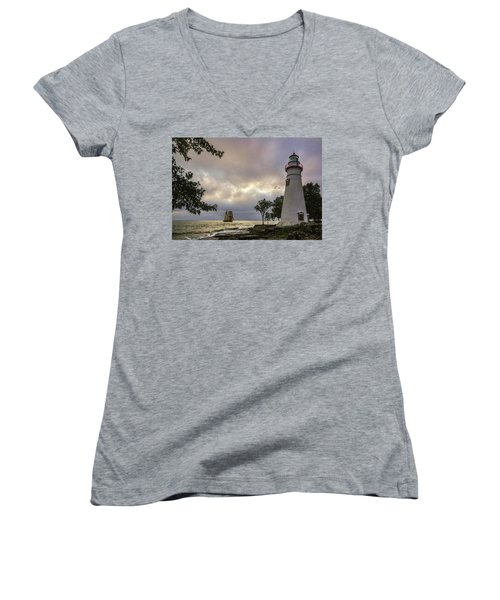 A Place To Dream Women's V-Neck (Athletic Fit)