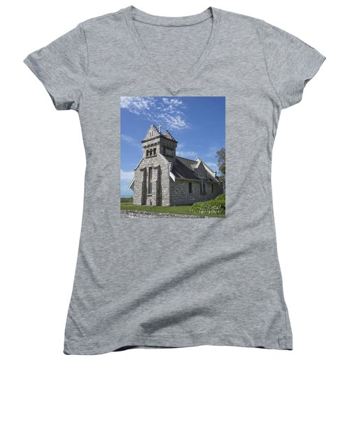 Church In New Zealand Women's V-Neck T-Shirt