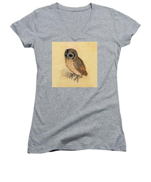 Little Owl Women's V-Neck