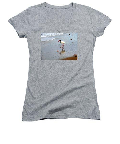 Lone Ibis Women's V-Neck T-Shirt
